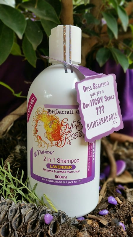 Gypsy Rose Lavender 2 In 1 shampoo