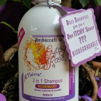 Gypsy Rose Rosemary 2-in-1 shampoo