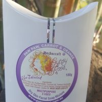 Gypsy Rose Paw Paw, Carrot & Orange Facial Soap Mixture